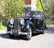 1952 Rolls Royce Silver Wraith in South Wales