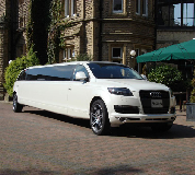 Audi Q7 Limo in South Wales