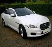 Jaguar XJL in South Wales